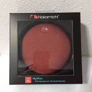 Nakamichi Mymizu Portable Bluetooth Speaker