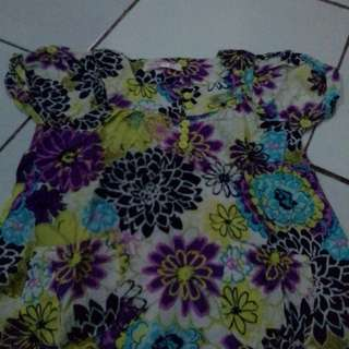 blouse flower snoppy
