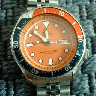 Sale! Seiko Diver's watch