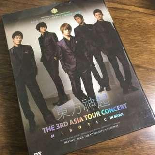 東方神起 韓國演唱會 DVD
