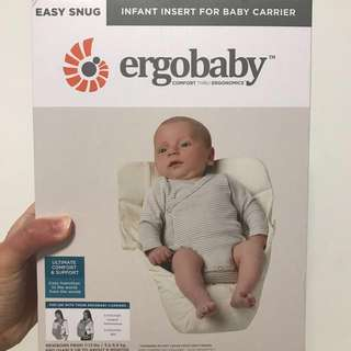 Ergobaby Infant Insert (brand new)