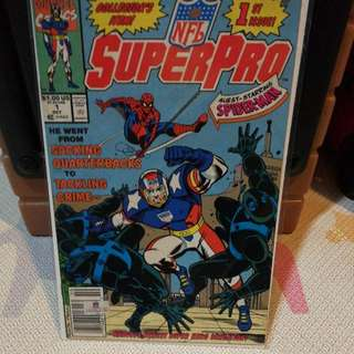 Marvel Comics SuperPro Issue 1