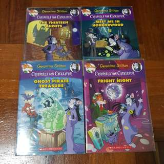 Geronimo Stilton - Creepella Von Cacklefur Series