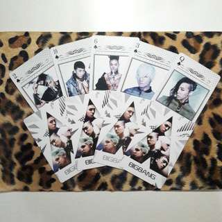 BIG BANG Fantastic Baby Poker Card