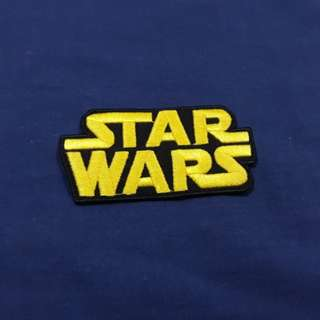 Star Wars logo Iron On Patch