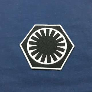 First Order logo - Star Wars Iron On Patch