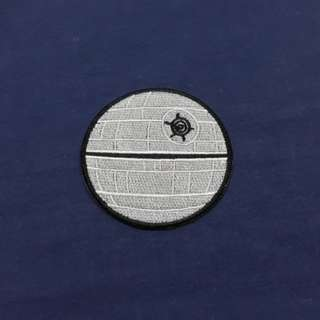 Death Star Star Wars Iron On Patch