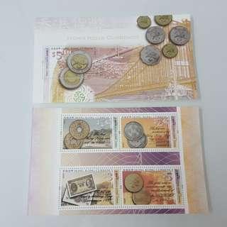 2004年香港貨幣小全張(一套2張)