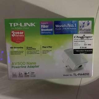 TP Link nano powerline adaptor