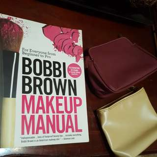 Bobbi brown makeup manual with free Estee Lauder bags