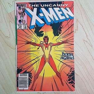 Marvel Comics Uncanny X-Men 199 Near Mint Condition Newsstand Variant