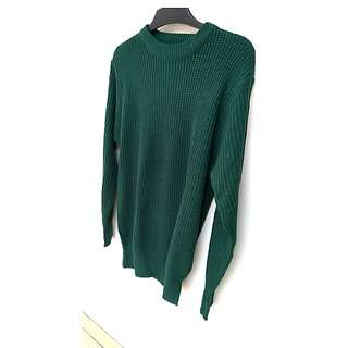 CHEAPEST ALERT! ERGE KNIT EMERALD IN GOOD CONDITION