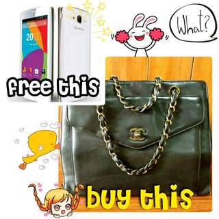 CHANEL BAG FREE SMARTPHONE