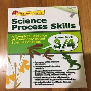 Science Process Skills P3&4