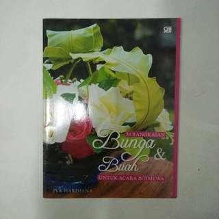 Buku 36 rangkaian bunga & buah