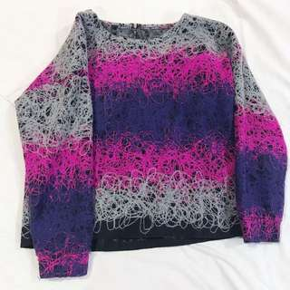 Crayon Color Sweater