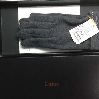 Chloe wool gloves