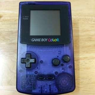 Gameboy Color Midnight Blue 日本TOYSRUS限定
