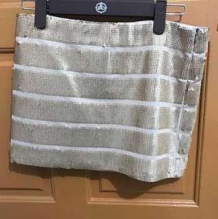 Sequinn skirt