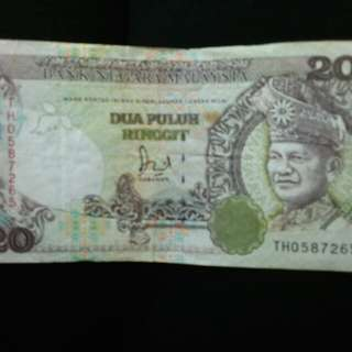 Very old RM20 money for sale