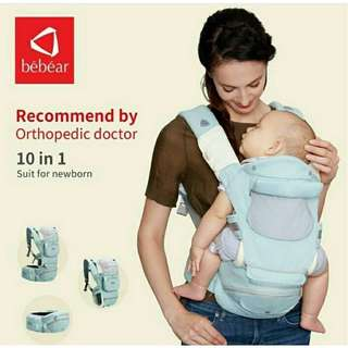 Be bear carrier hipseat ergo gendongan bayi