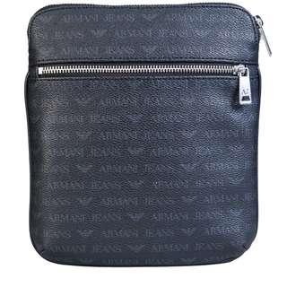 Mens ARMANI logo messenger bag