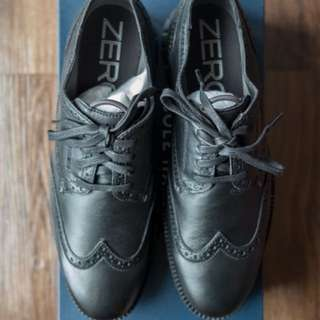 Cole Haan ZEROGRAND Wingtip Oxford Mens Size US 8.5 Black