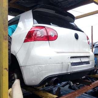 Volkswagen Audi Part Halfcut