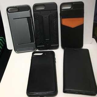 5個 iPhone 7 Plus / iPhone 8 Plus 卡case