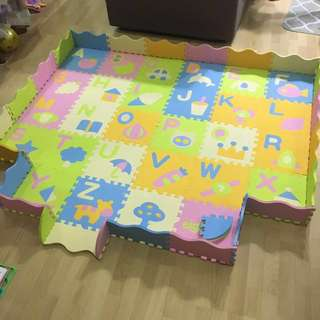 Baby Foam Play Mat With Alphabets
