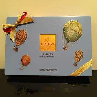 Godiva朱古力餅5件裝
