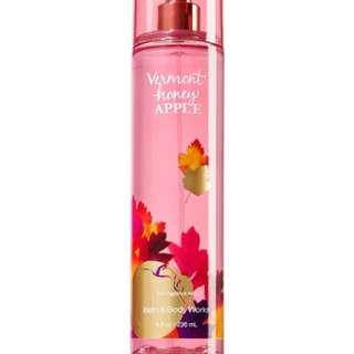 Bath And Body Works Vermont Honey Apple Fine Fragrance Mist