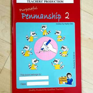 Penmanship book 5-7 years old