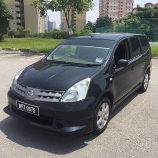 Nissan Grand Livina 1.6 (M) For Sale