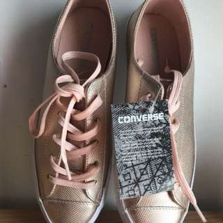 Converse Rose Gold Metallic