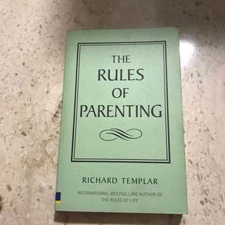 The Rules Of Parenting Book