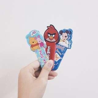 cute cartoon bookmarks