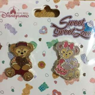 duffy may pins disney 迪士尼 襟章 sweet love