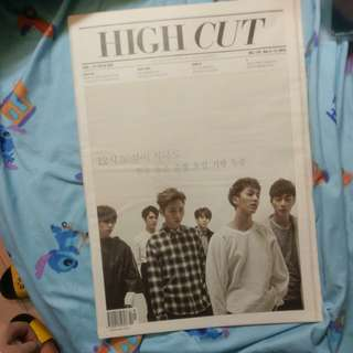 Highlight/beast封面highcut