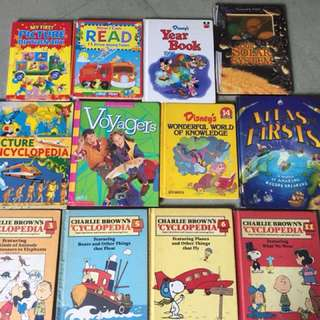 Various children's books