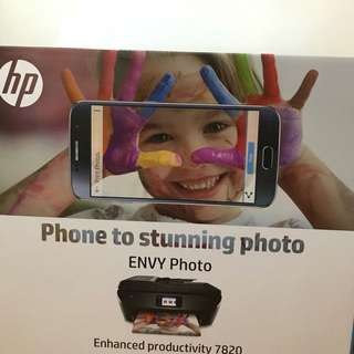 🆕全新有保養HP ENVY Photo 7820 All-in-One Printer