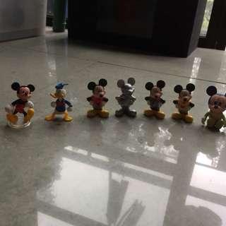 Mickey Mouse mini figures