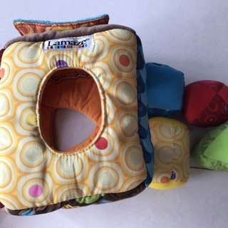 Lamaze colour and shape toy for toddler
