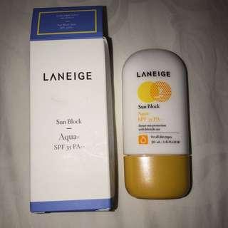 LANEIGE SUN BLOCK AQUA SPF 35 PA++