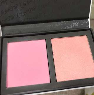 Colourpop *Done Deal* Blusher and Highlighter