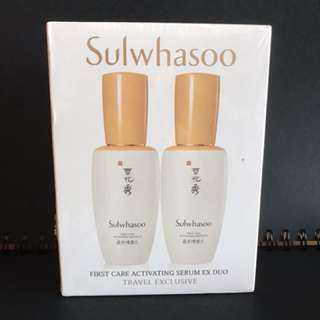 Sulwhasoo First Care Activating Serum Ex Duo (Sell individual bottle)