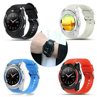 V8 Smart Watch Crazy Sales (Sim/MMC/Call/Whatsapp/Camera/Mp3/Facebook/Pedometer) Free Postage