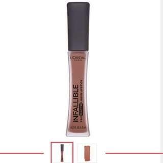 Loreal Infallible Pro-Matte Liquid Lipstick - Nudist
