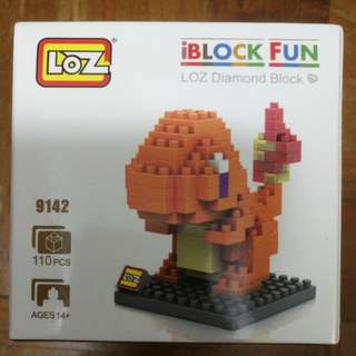 Loz Charmander Nano block