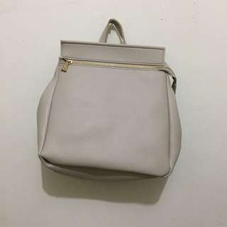 Miniso backpack leather
